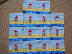 050 mini beach theme July August 2010 (sewjo2009) Tags: beach mini theme quilts 2010 julyaugust