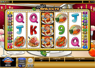 free Buffet Bonanza bonus game