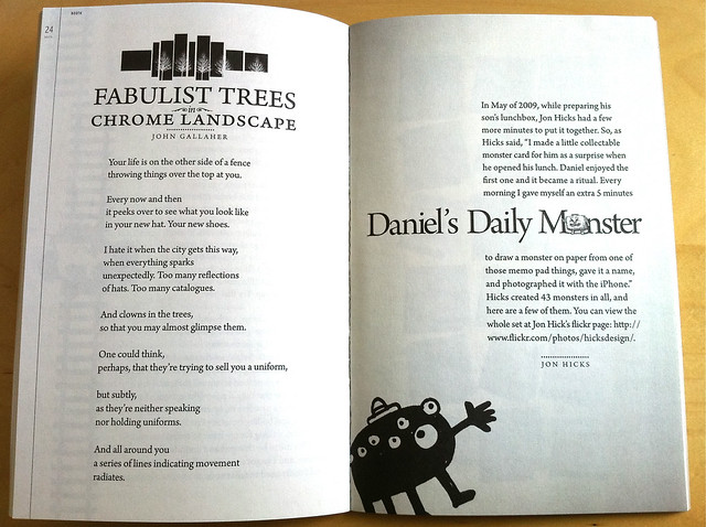 Daniels Daily Monsters featured in Booth Magazine