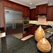 Superb cabinetry, superior plumbing fixtures and hardware choices along with top of the line appliances