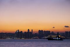 Lei Yue Muen, 1 Jul 2010 (*waito) Tags: sunset hk sun landscape hongkong scenery magic  magichour  d80 leiyuemuen waitoo
