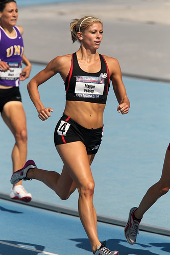 Maggie Vessey in the 800m at the USATF Outdoor Championships by  love_running_more.