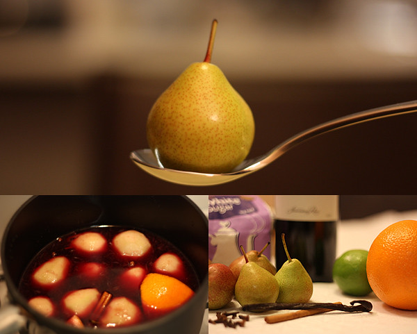 Poached Pear - Ingredients