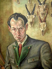 Christian Schad, Self-Portrait, 1930s (kraftgenie) Tags: selfportrait germany weimar schad