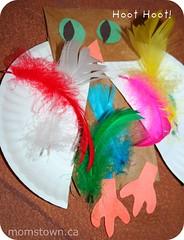 owl preschool craft