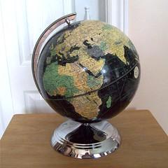 Weber Costello Starlight Globe (collectique) Tags: world globe 1940s weber costello starlight 10inch blackocean