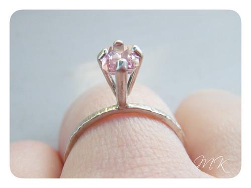 pink mystic topaz ring 6