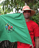 Members of La Via Compensia from Brazil participated in the rally (teqmin) Tags: usaid demo haiti corn farmers mpp monsanto centralplateau papay haitianpeasants gmofreeworld usforeignaid tminskyixnetcomcom antimonstanto foodsoverignty