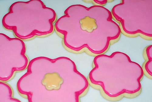 Pink Flowers - Spill
