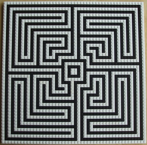 Labyrinth, overhead view