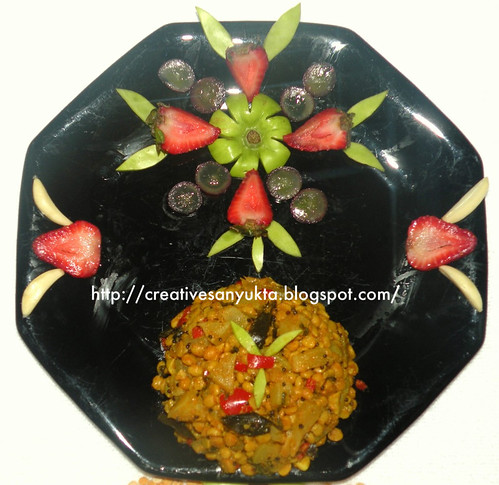 Bottle Gourd with Lentils Stir-fry @ Creative Sanyukta