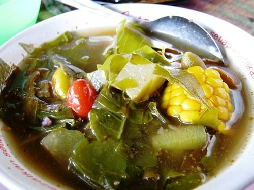 Sayur Asem (sour vegie soup)
