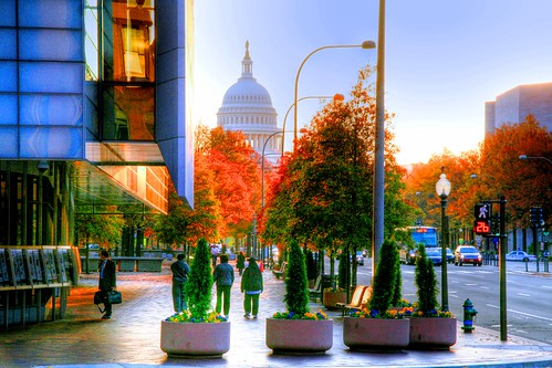 Autumn on Pennsylvania Avenue