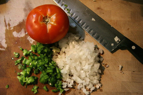 The makings of Salsa Fresca