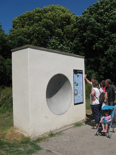 Hythe Royal Military Canal modern sound mirror