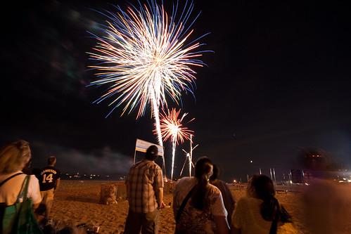 3 Fireworks Go Off