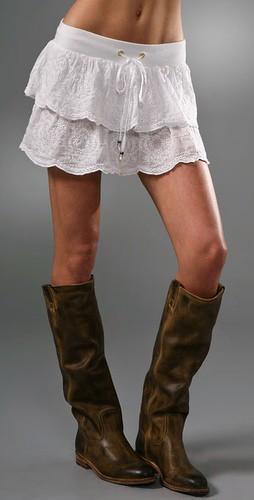 young fabulous and broke caroline skirt