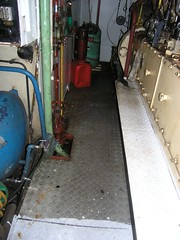 Engine room deck