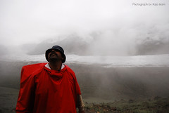 All set for K2 BC (Raja Islam) Tags: travel pakistan red cloud mountain clouds north peak adventure rush k2 hunza poncho nagar rushpeak