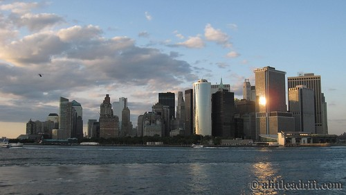 Manhattan Skyline at Sunset, NYC