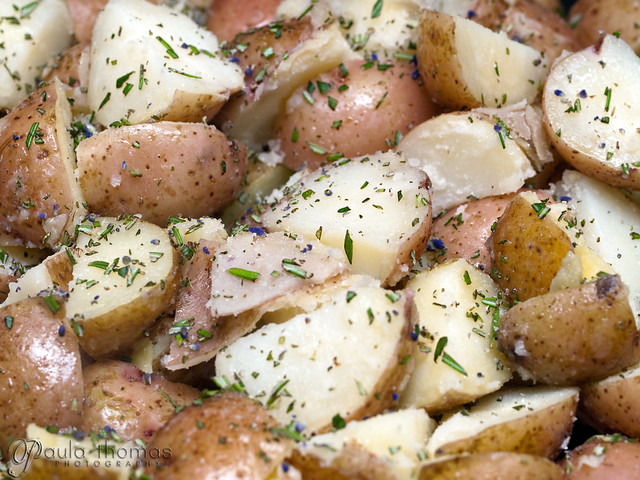 Potatoes with Lavender and Rosemary