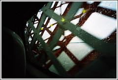 Runcorn Bridge (JerryBones) Tags: film window rain train scan analogue bymike merseyside canoneos10 ultrawideangle runcornbridge kodakgold400 sigma1224mmf4556exdchsm