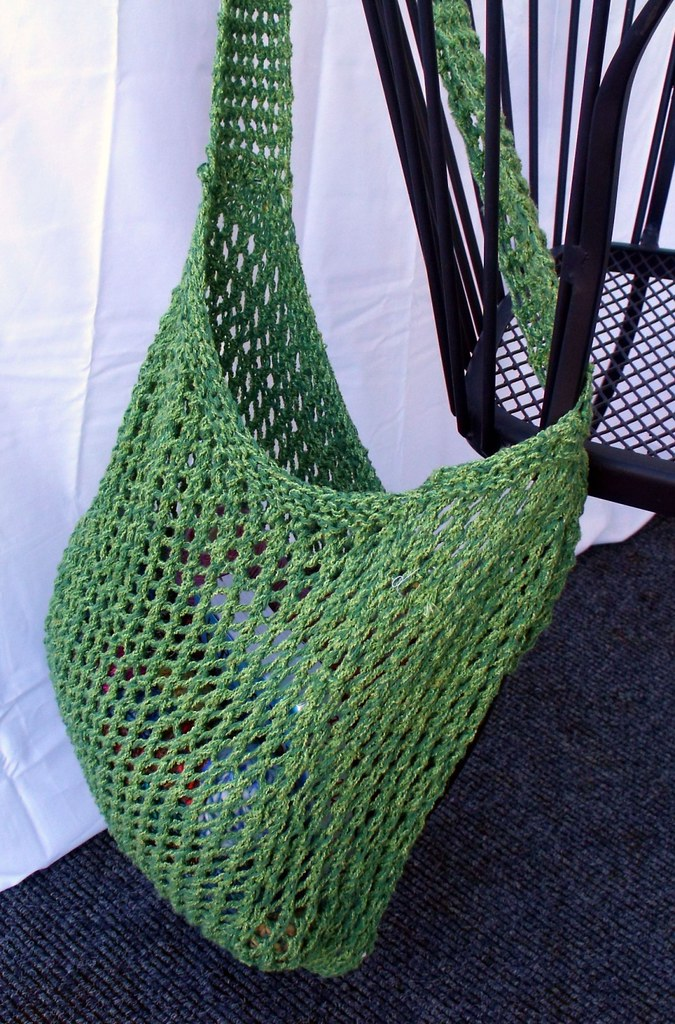 Knitted Market Bag | Design Your Own Custom Yarn, Sold By The Pound
