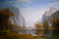 Albert Bierstadt's Classic Yosemite Valley - Haggin Museum Stockton California (Darvin Atkeson) Tags: california wallpaper museum painting landscape albert famous historic canvas valley yosemite oil stockton bierstadt haggin darvin atkeson darv liquidmoonlightcom liquidmoonlighycom