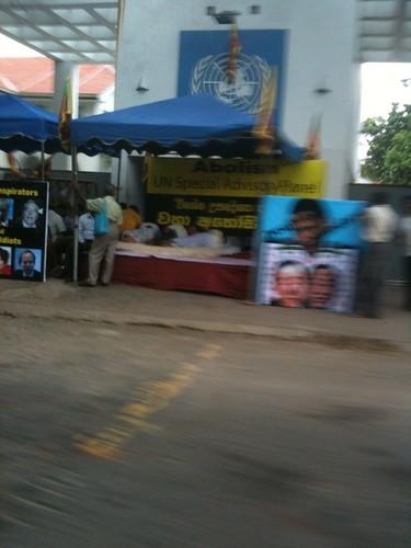 UN-Protest, Colombo