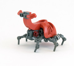 T16 Rhinoceros-Beetle (Titolian) Tags: bug lego beetle battle system rhino bionicle rhinoceros heracross