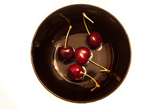 Cherries (chinski99) Tags: cherry plate dailyshoot