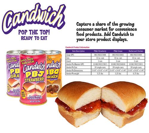 candwich info