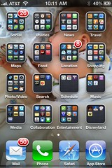 My iPhone 4 home screen (Robert Scoble) Tags: groups apps iphone homescreen iphone4 ios4
