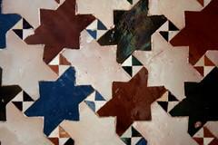 Wandfließen in der Alhambra, Andalusien