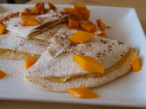 Mango Morning Quesadillas