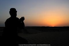 Sunset in the Sand Dunes of Balochistan (Danial Shah) Tags: pakistan sunset expedition sand dunes balochistan dalbandin edanial naukandi