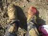Quick Sand swallowed my shoe (Roni Bagonnie) Tags: fun mud quicksand