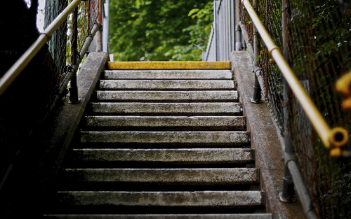 Steps Up To Radyr Station