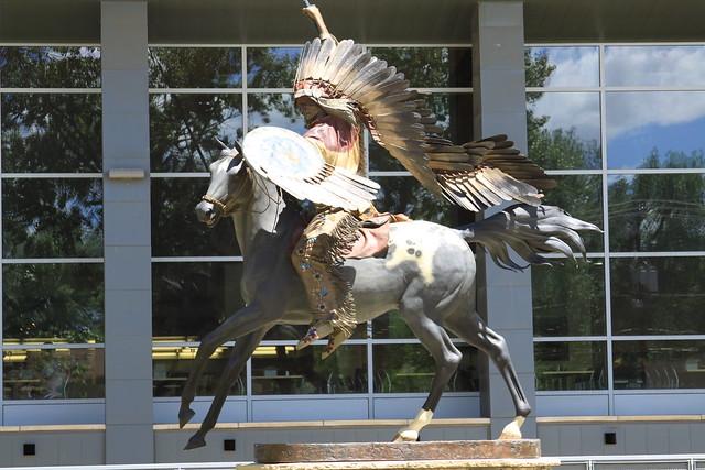 Statue of Chief Washakie