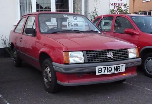 1984 Vauxhall Nova 1.0 2dr saloon £595