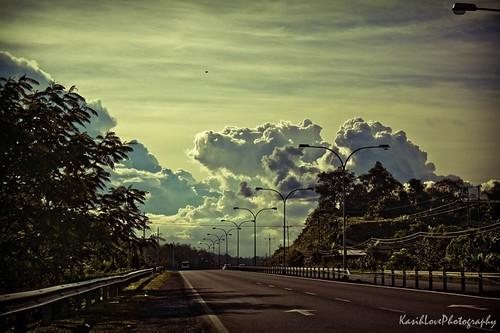 serian-kuching road