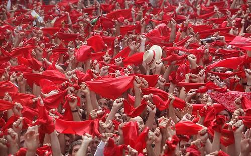 Rozpoczęcie San Fermín