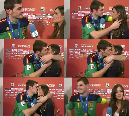 Iker Casillas And Sara Carbonero height=450