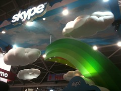 CommunicAsia: Skype booth