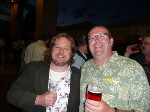 Pete Brown and Steve Parkes