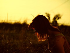 85|365 (chelsearoberson) Tags: sunset 365 selfportrait summer chelsearoberson field olympuse520 goldenhour