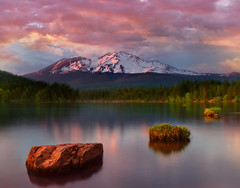 Mount Shasta_Northern California Trip (kevin mcneal) Tags: california sunset lake northerncalifornia mountshasta lakesiskiyou kevinmcneal