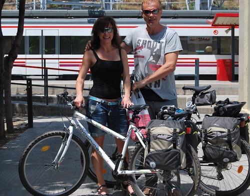 På väg mot cykeläventyr!