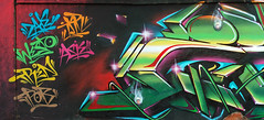 Amiguitos (COLOR IMPOSIBLE CREW) Tags: chile tren graffiti asie 2010 zade quilpue jkr fros westo pobrepablo
