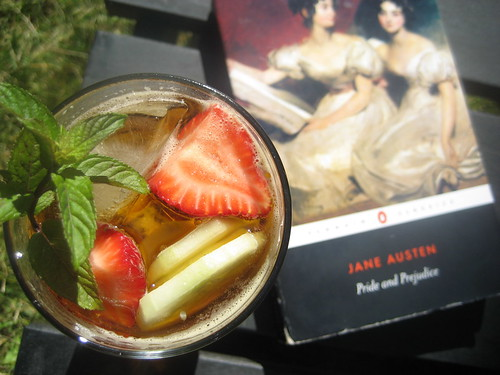 pride and prejudice and pimm's